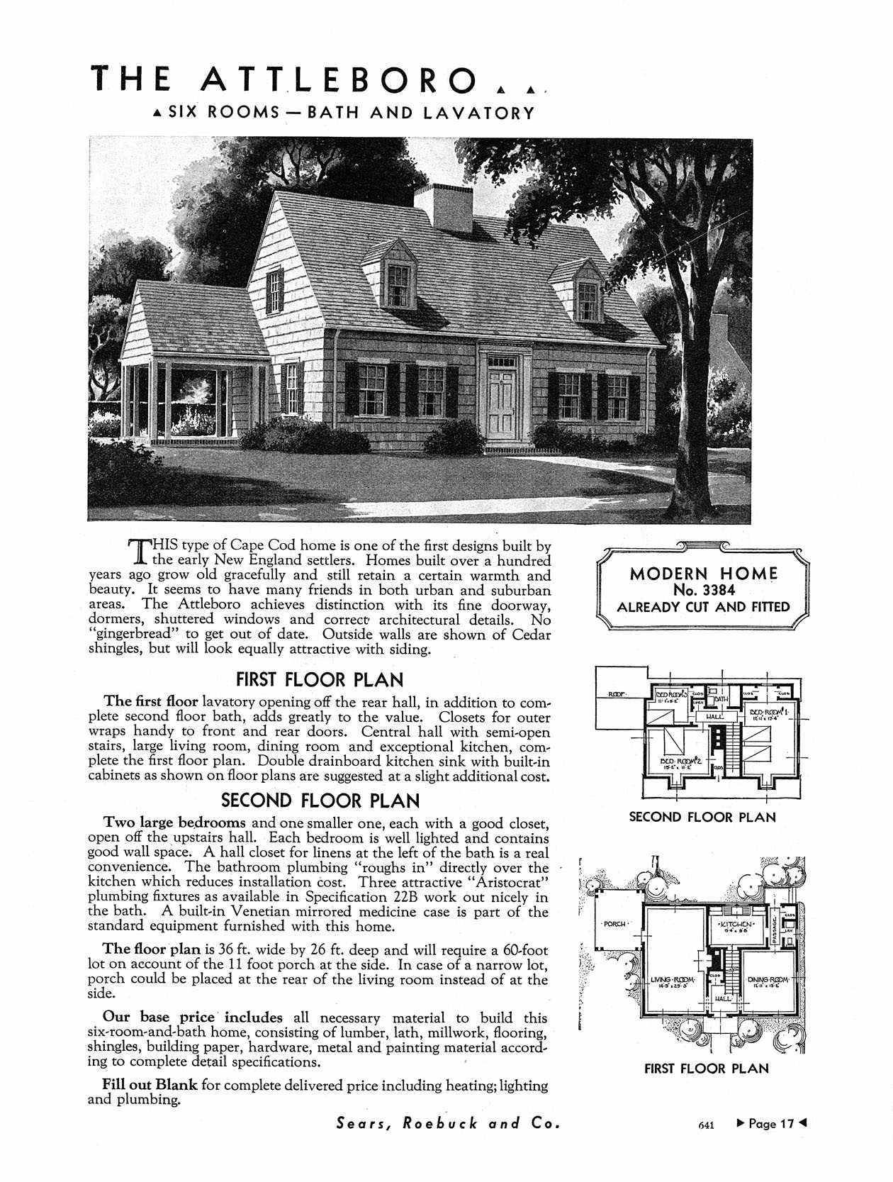 They Used The Second Floor Plan For Our House Luckily They Modernized The First Floor Cape Cod House Plans Cottage House Plans Vintage House Plans