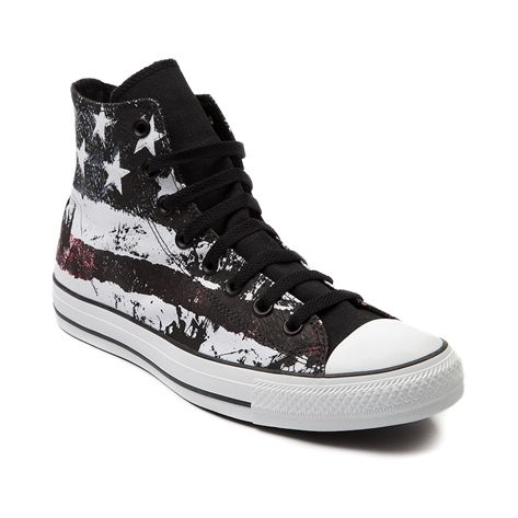c28680ae0609 Shop for Converse All Star Hi American Flag Sneaker in American Flag at Shi  by Journeys. Shop today for the hottest brands in womens shoes at  Journeys.com.