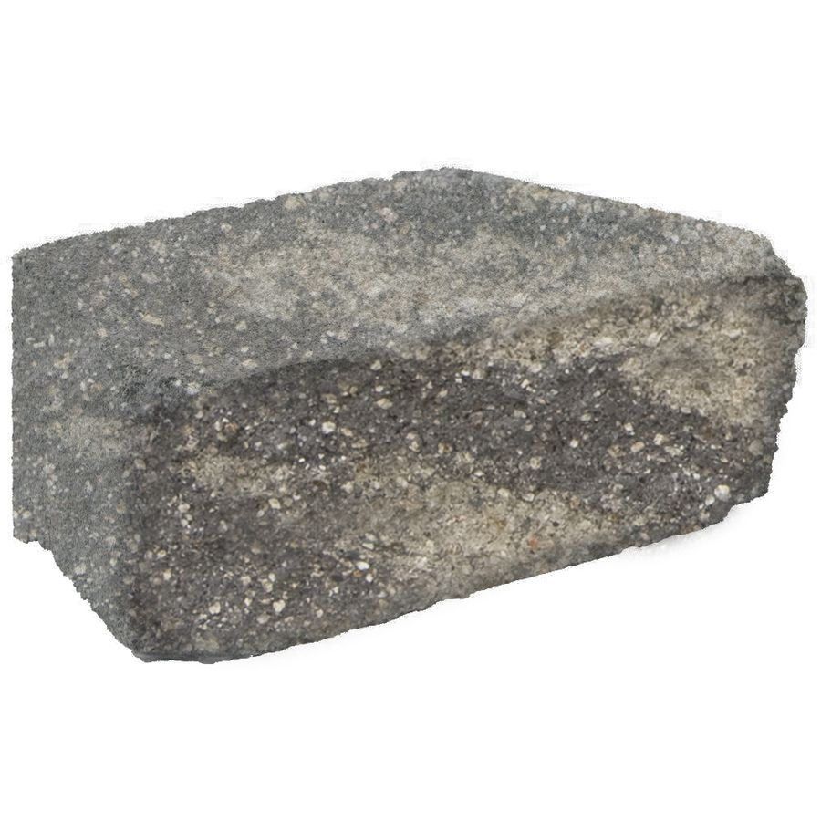 Gray Charcoal Retaining Wall Block Common 4 In X 12 In Actual 4 In X 12 In Lowes Com Retaining Wall Block Retaining Wall Concrete Retaining Walls