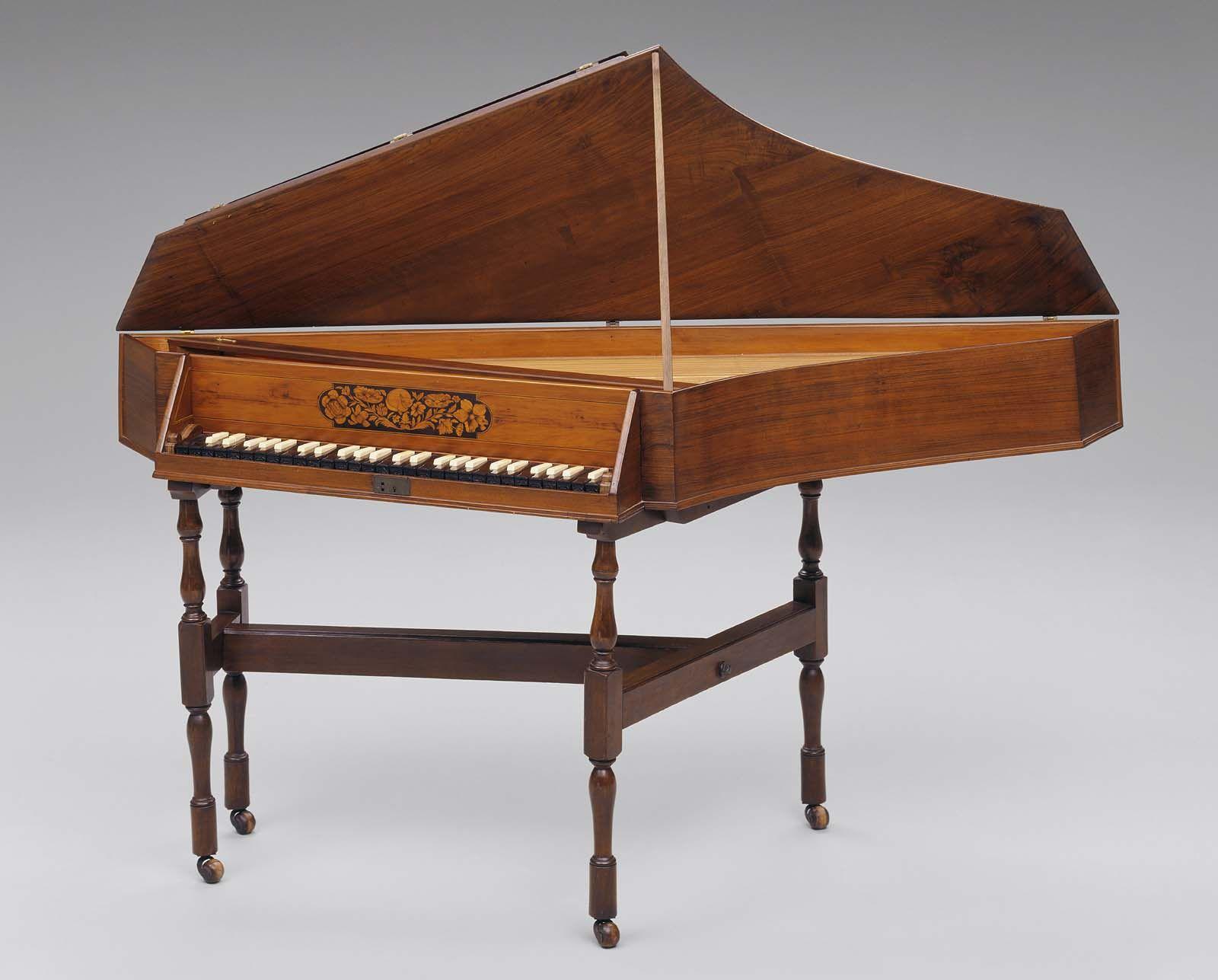 Musical Furniture Spinet By Stephen Keene English 1700 Mfa Boston Harpsichords
