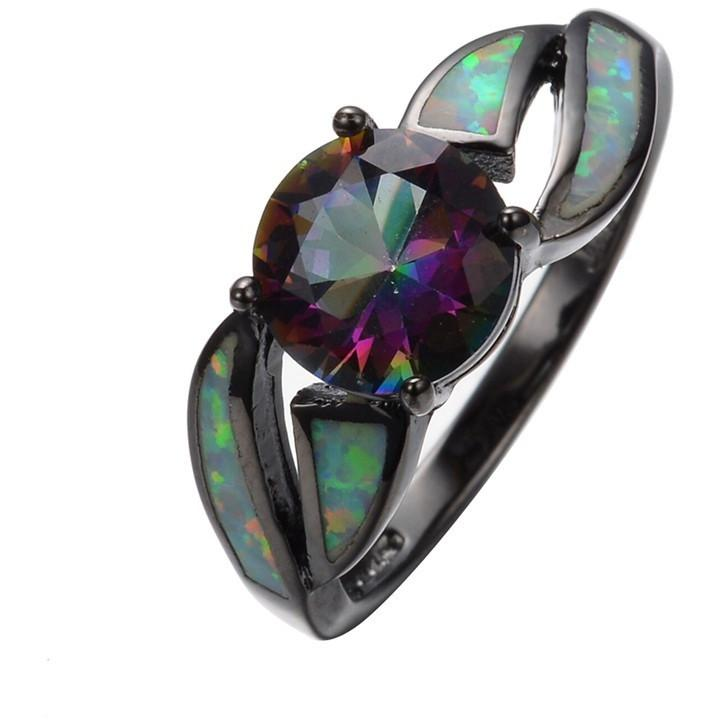 Fire Opal Ring for Insight