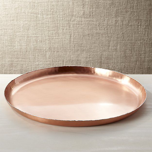 Keaton Tray Copper Crate And Barrel Serving