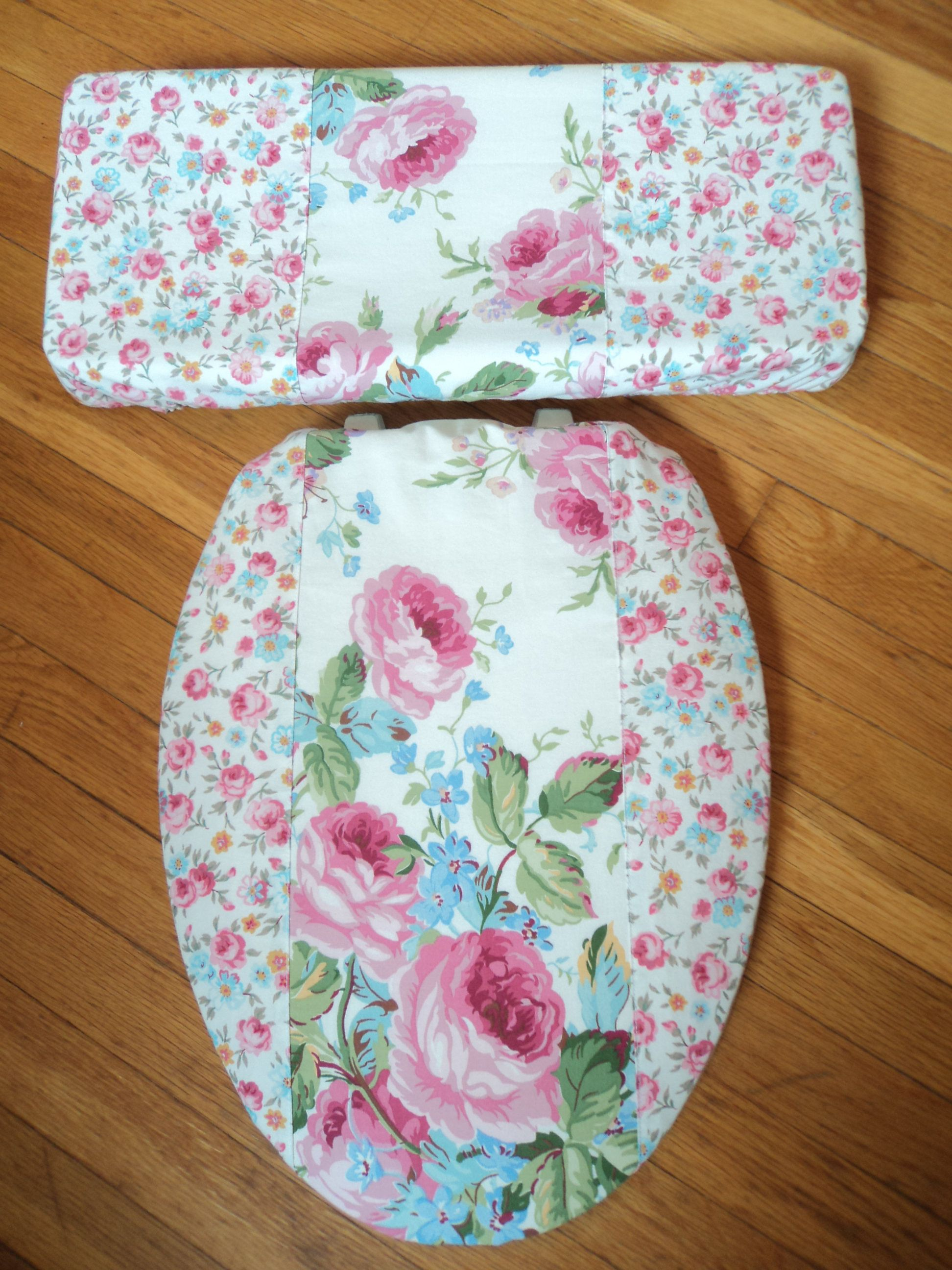toilet seat lid covers. Laura Ashley Meets Ralph Lauren Toilet Seat Cover Set  Ashley
