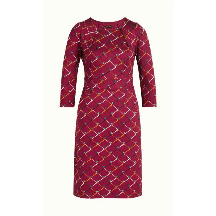Mona-Dress-Rizzle | Kleid mit ärmel, Langärmelige kleider ...