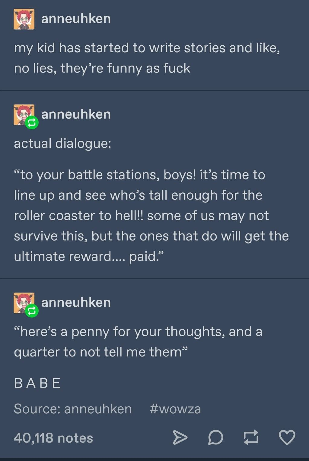 Funny Story From A Child Heh Funny Story From A Child Funny Stories Funny Tumblr Funny