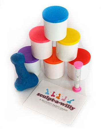 Sculpt-A-Willy Party Game