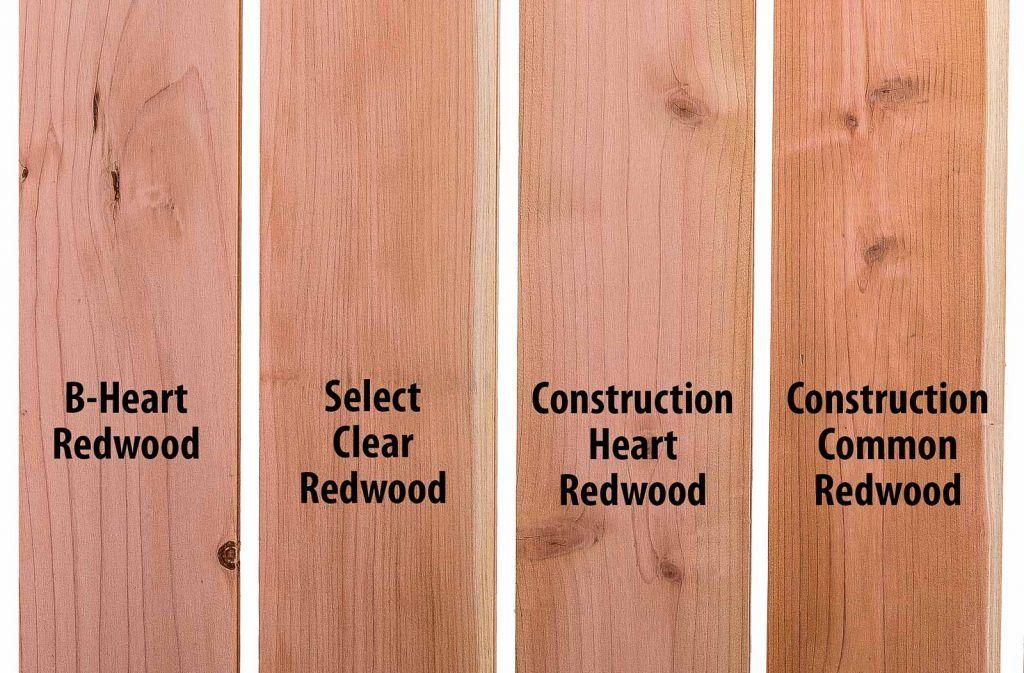 Dimensional Redwood Lumber In Multiple Grades Redwood Lumber