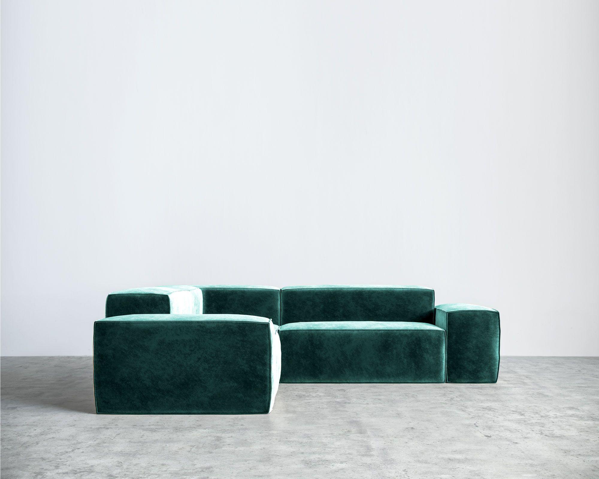 10 Velvet Sofas To Put In Your Living Room Immediately ...