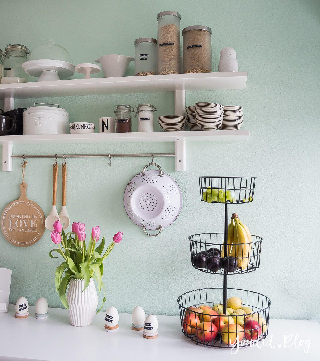 Ein Neues Küchenregal Und Das Drama Um Die Wandfarbe Mint