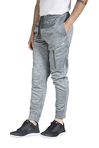 Poly Fleece Zip Pocket Jogger Pant