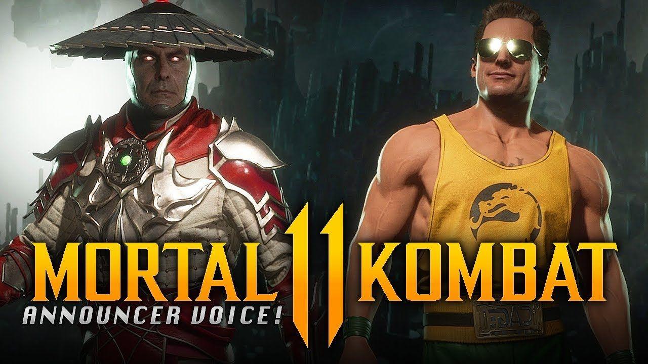 Mortal Kombat 11 New Raiden Johnny Cage Secret Announcer