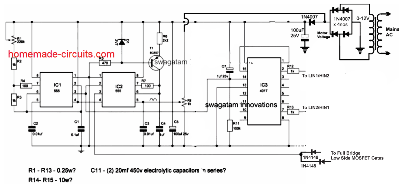 Single Phase Variable Frequency Drive VFD Circuit di 2020