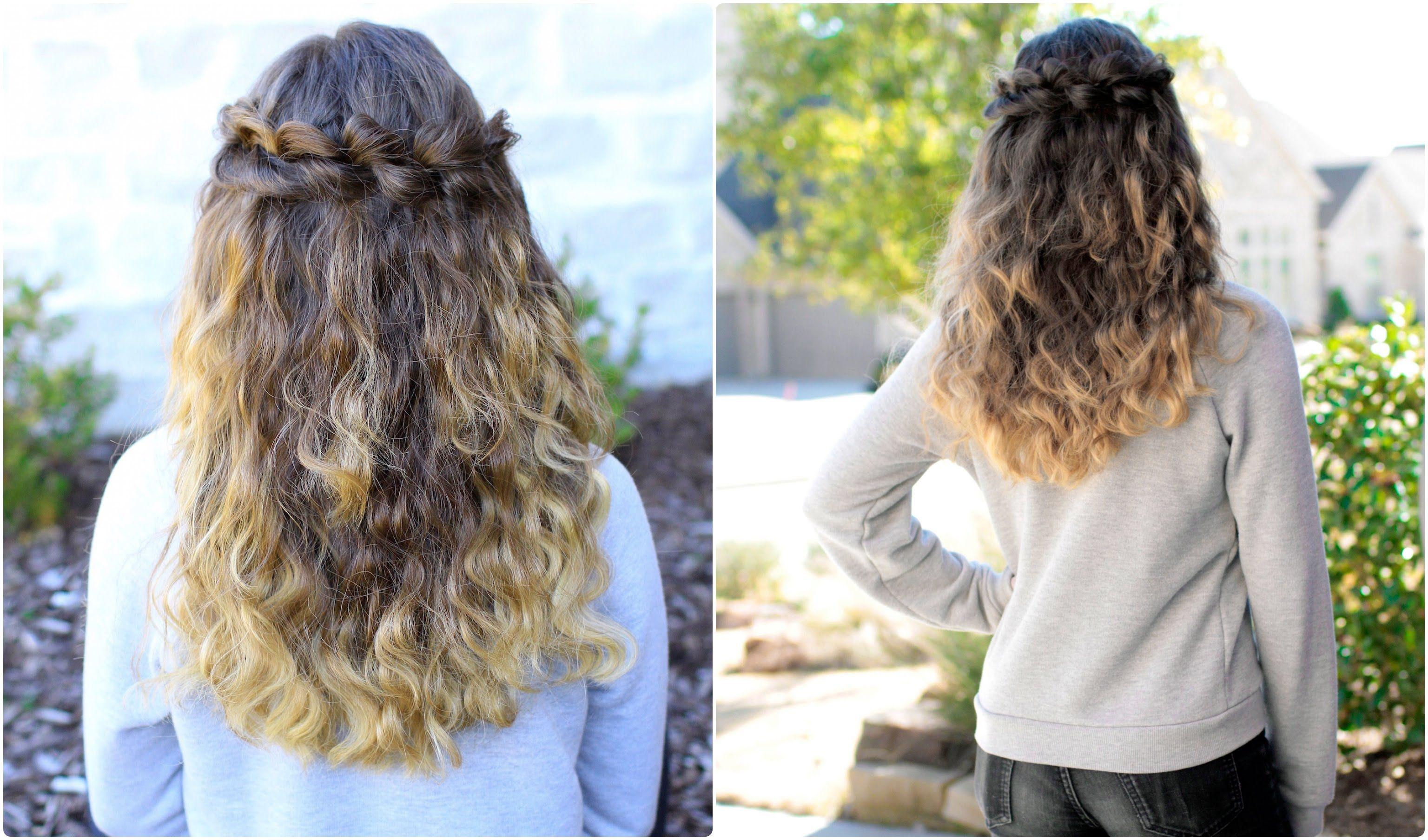 Puffed loop braid cute girls hairstyles fun hairstyles