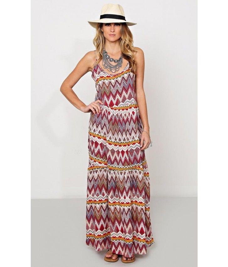 Colorful Adventure Woven Dress #SFLlovespring