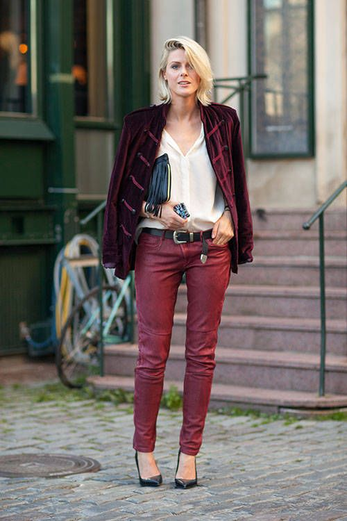 Warm weather outfit inspiration from the streets of Stockholm. See all of the chicest looks here.