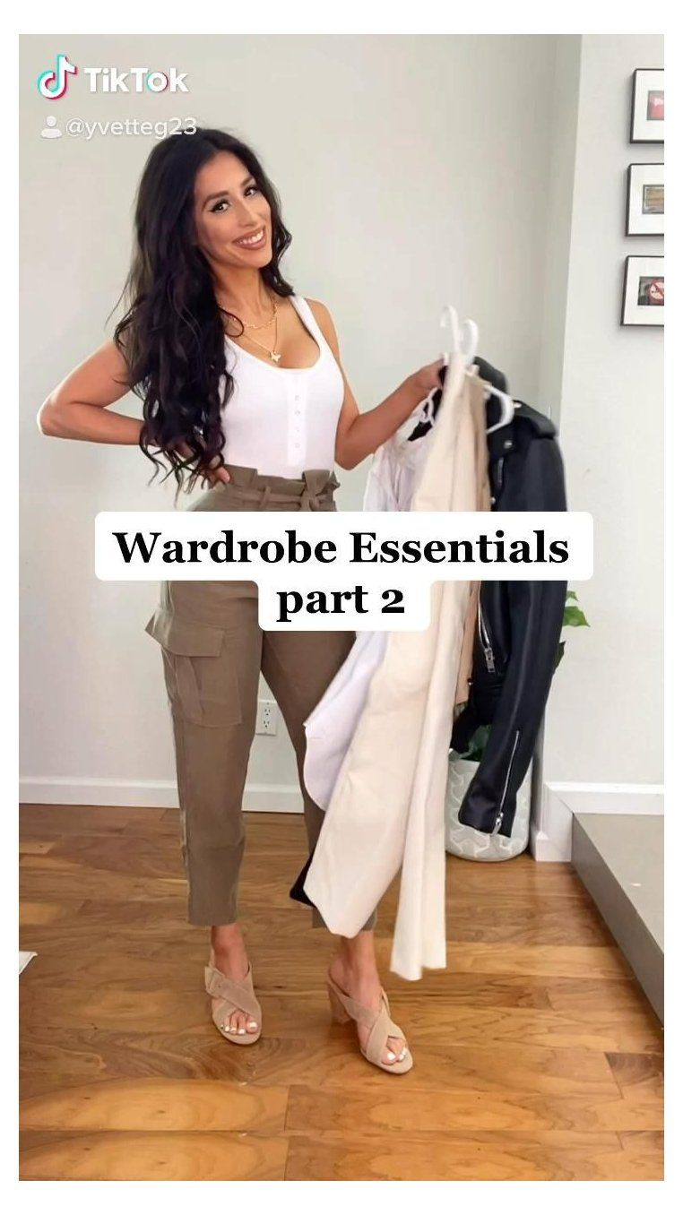basic outfits minimalist wardrobe summer