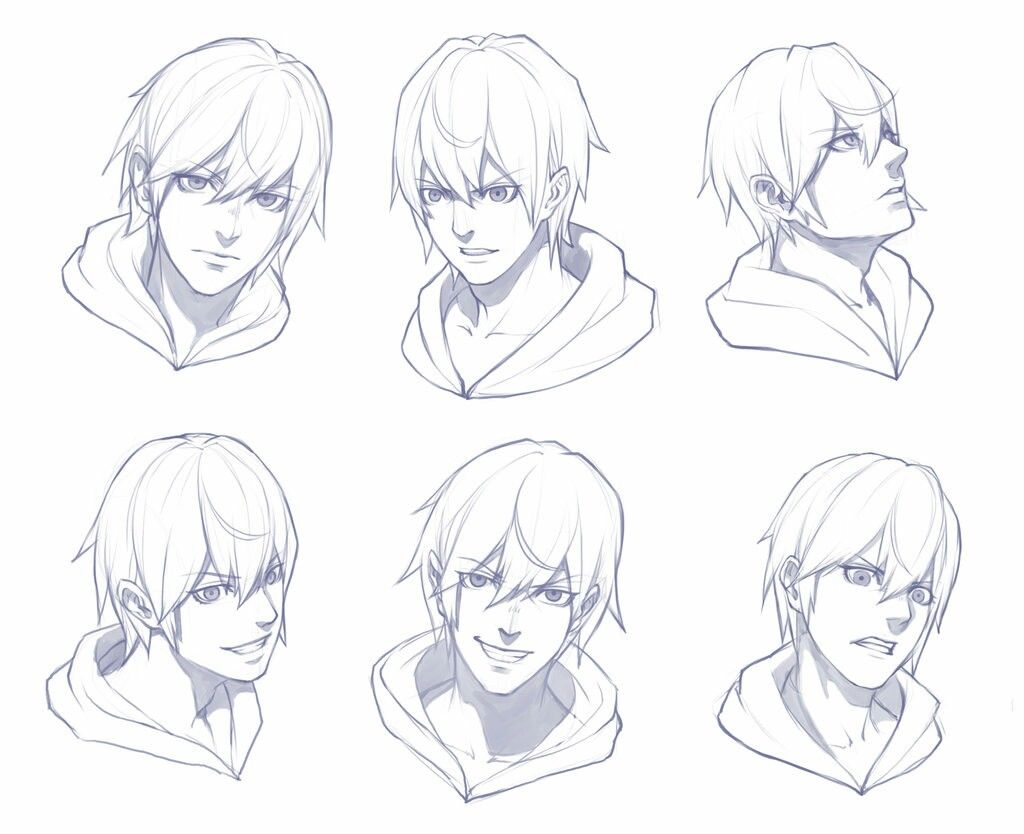 Pin By Blissfool Blissfool On Prichoski Anime Male Face Face Sketch Anime Drawings Tutorials
