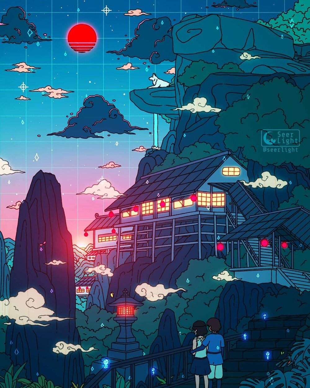 Ronald Kuang Dives Into Immersive Digital Anime Illustrations —  Visual Atelier 8