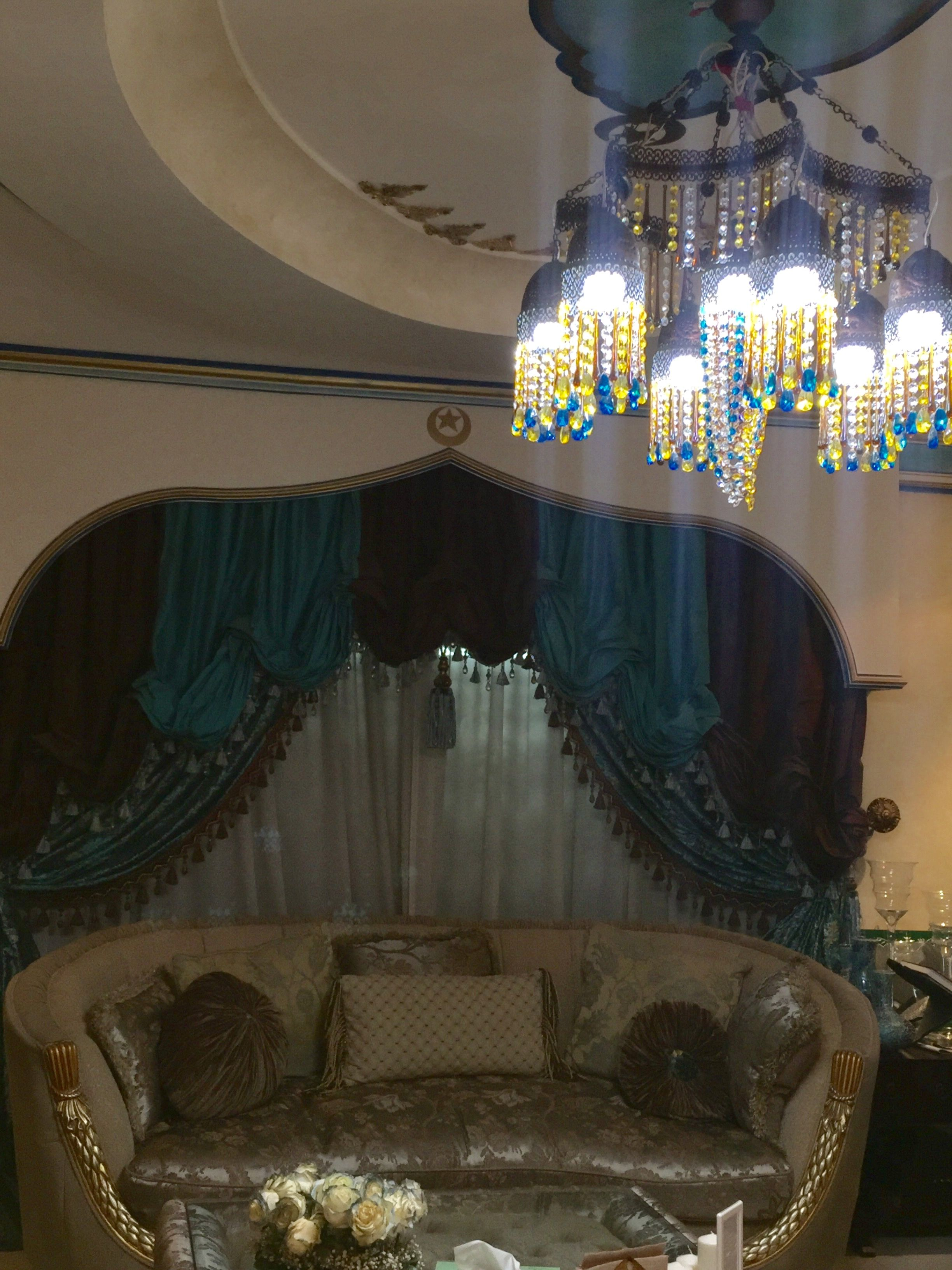 Islamic ottoman internal decoration from my designs parents house doha qatar also rh pinterest