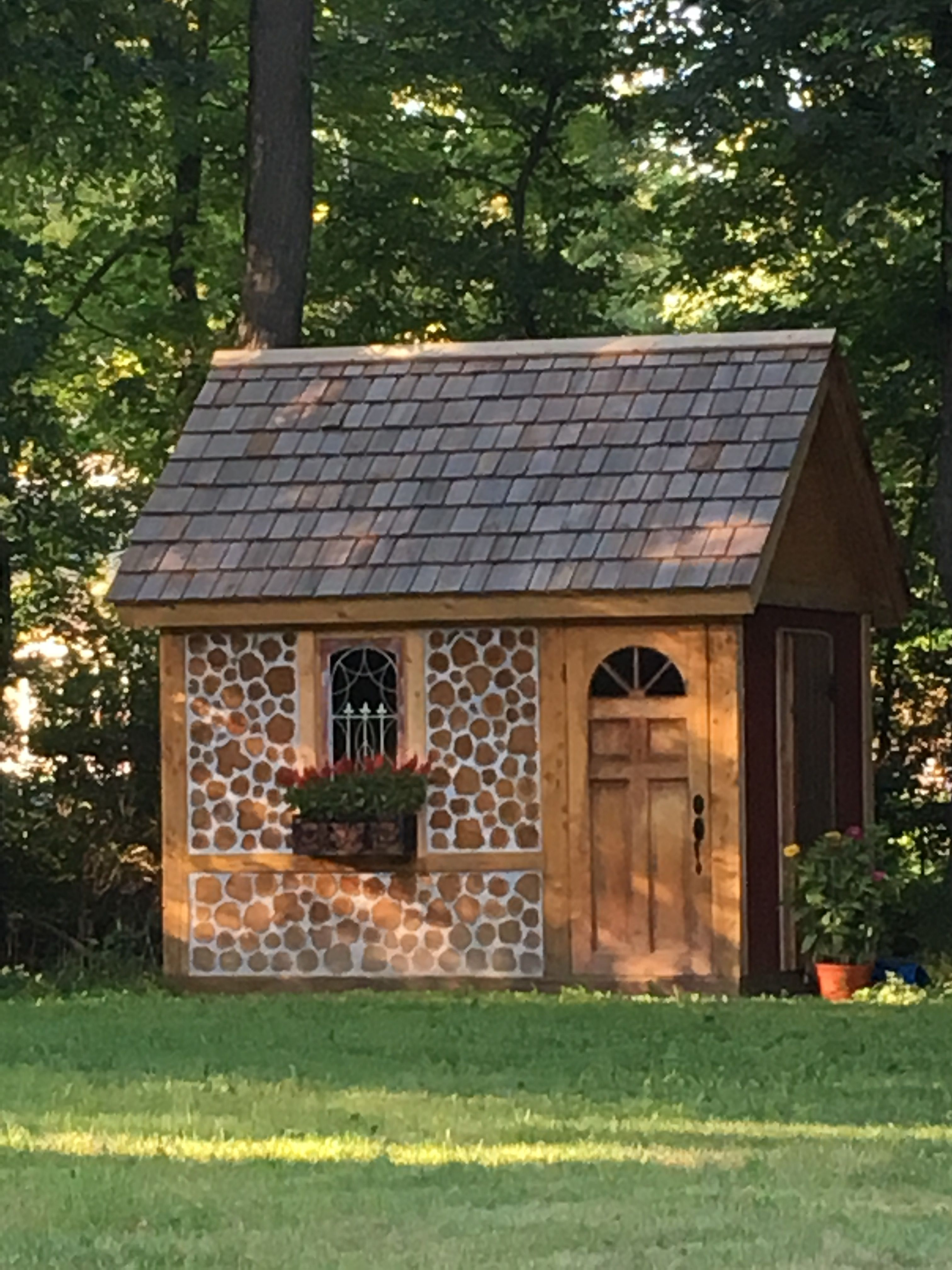 My Irish Garden Shed Hand Crafted In Poughkeepsie Ny Shed Irish Garden House Styles