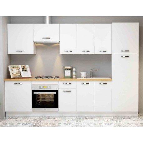 Conjunto mueble Cocina Blanco Soft en 2019 | Armarios, Muebles ...