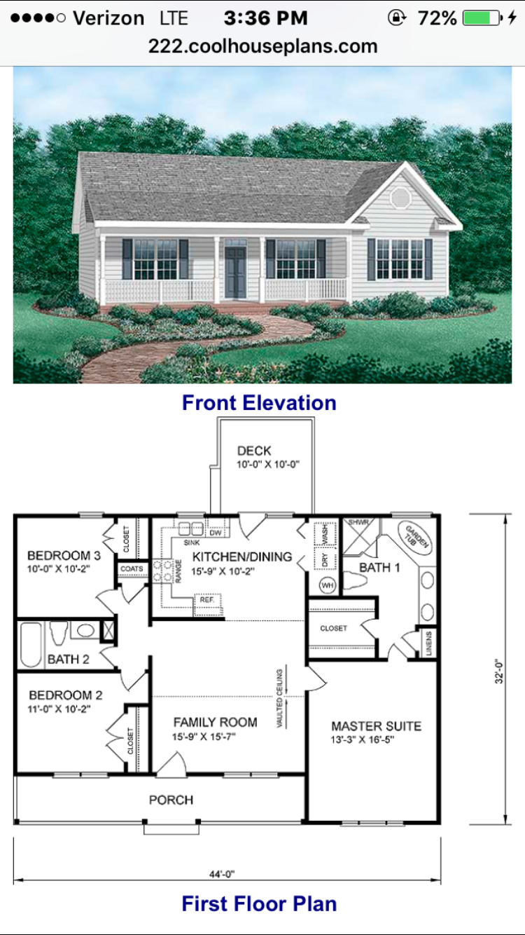 Chp 24263 cool houseplans com 1258 sq ft