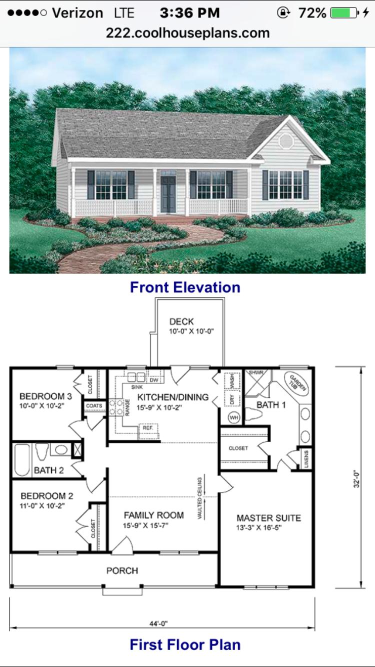 Pin By Rhonda Turman On House Ranch House Plans Ranch House Plan Floor Plans