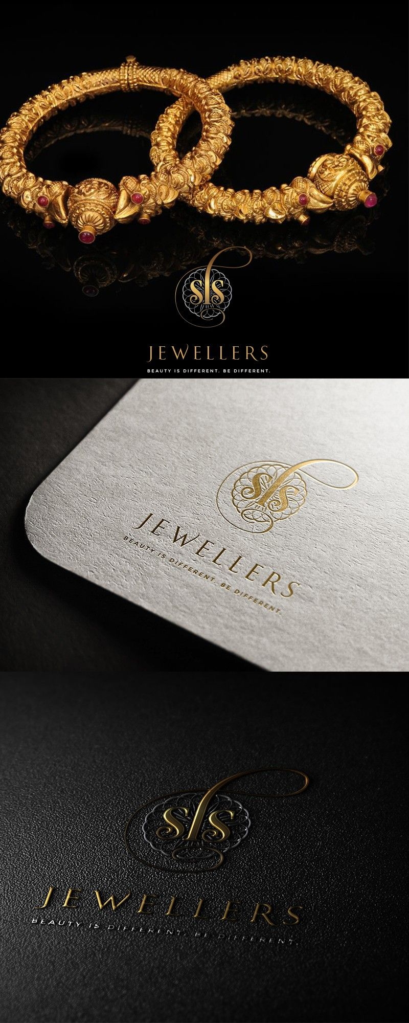 High End Luxury Diamond And Jewellery Store Logo Graphic
