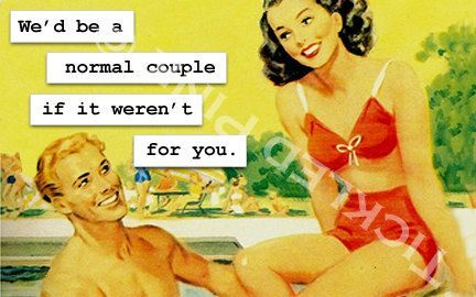 Photo of Magnet We'd be a Normal Couple if it Weren't for by RetroDivas, $3.50… – My blog dezdemonhumor.space