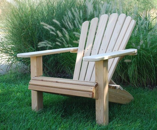 Classic Adirondack Chair Plan