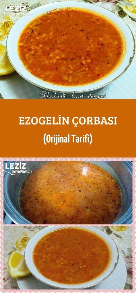 Ezogelin Çorbası (Orijinal Tarifi) – Leziz Yemeklerim – Çorba Tarifleri