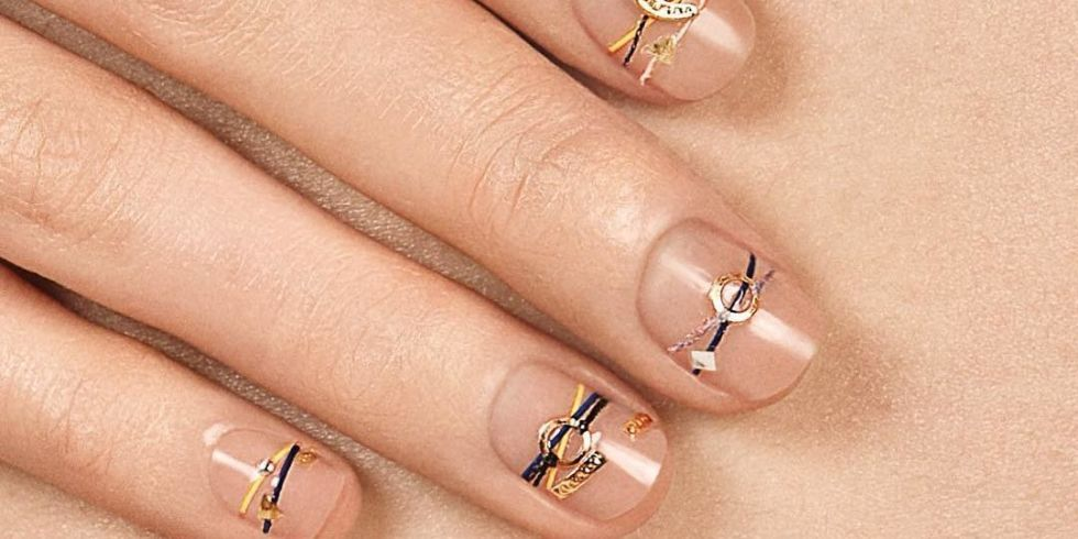 Bracelet nails are our latest mani-obsession   Nail trends and ...