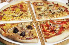 Das perfekte Pizzateig Rezept mit Trockenhefe #pizzateigmittrockenhefe