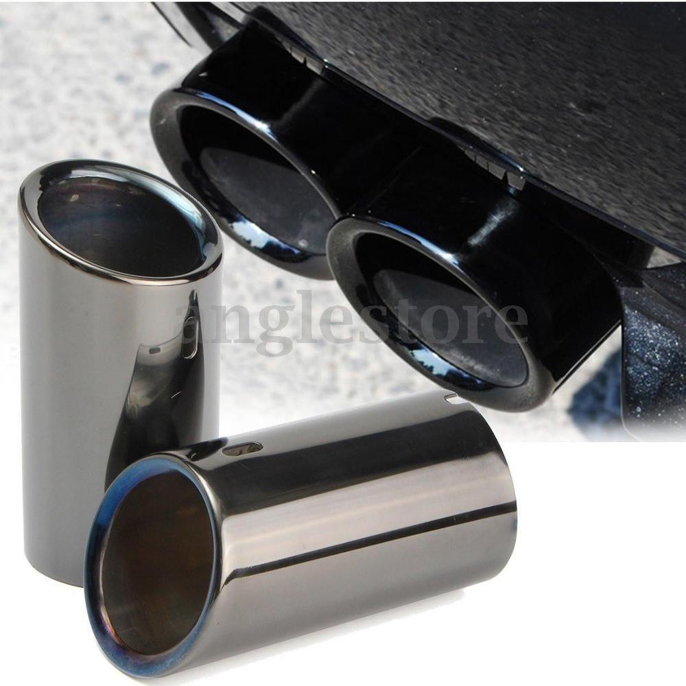 2007 2010 Bmw 328i Color Titanium Black 1 Pair Of Exhaust Pipes 2006 2010 Bmw 325i Detail Image Quantity 1 Pair Ebay Bmw Car Tires Black
