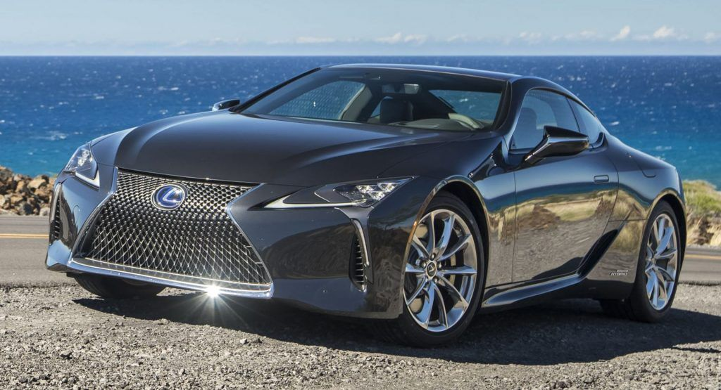 2021 Lexus LC Coupe Drops Weight And Gets A Sportier