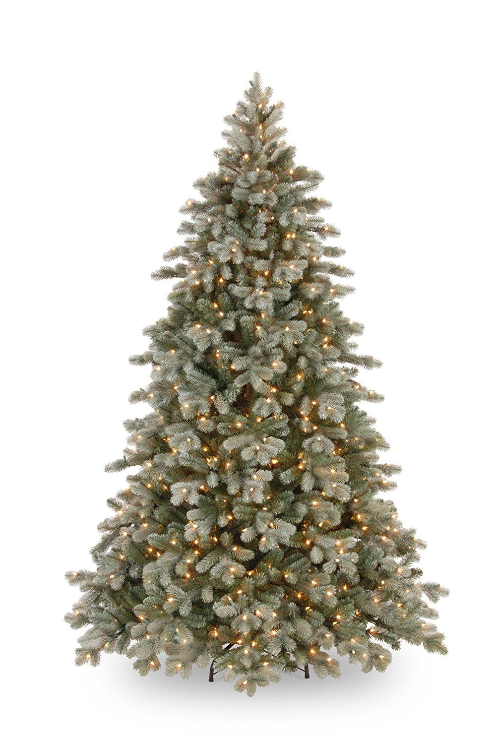 National Tree PECSF130075 Feel Real Frosted Colorado Fir