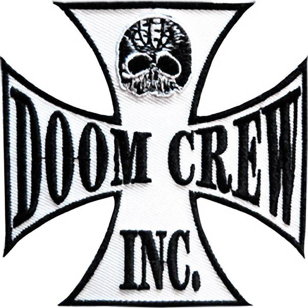 52ef24a91692 Black Label Society Doom Crew Embroidered Big Back Jacket Vest Patch ...
