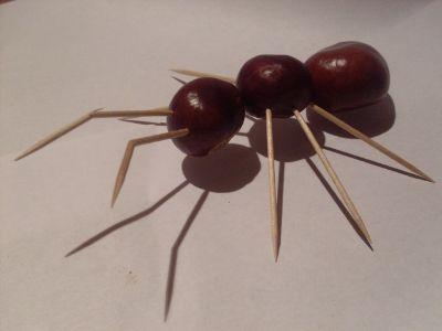Поделки для детей муравей