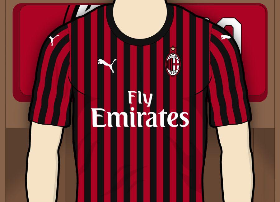 806ec0dc AC Milan 2019-20 Home Kit Prediction #acmilan #forzamilan #rossoneri  #ForeverMilan #milan