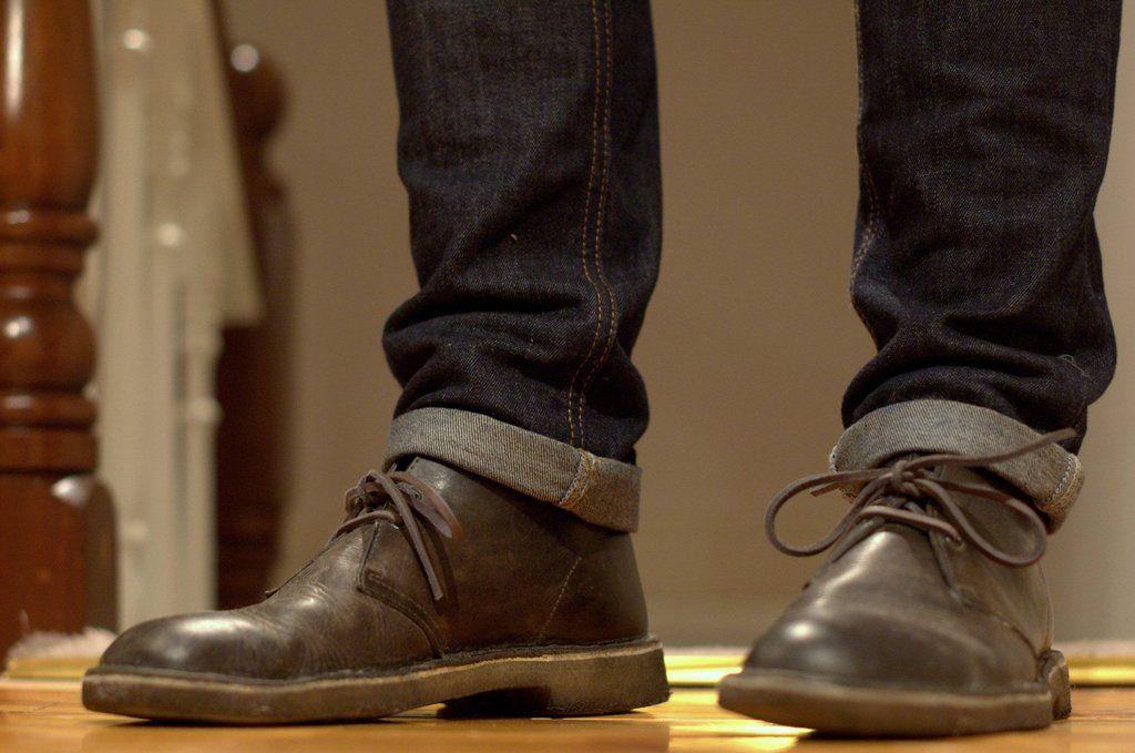 Leather Laces Desert Boots Clarks Desert Boot Dress Shoes Men
