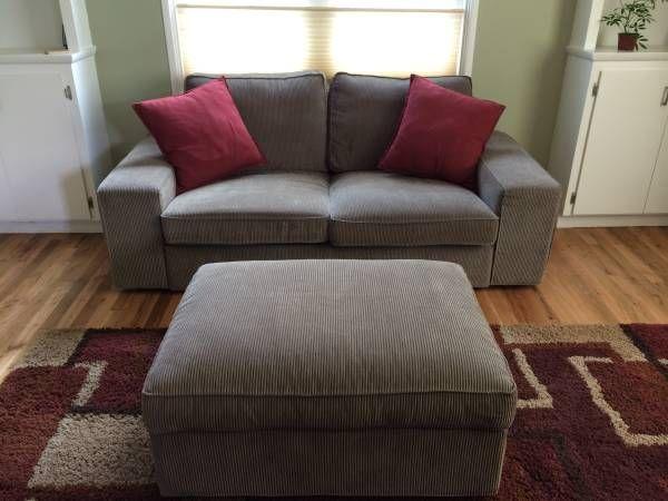 Ikea Kivik Sofa And Footstool With Storage 395 Se