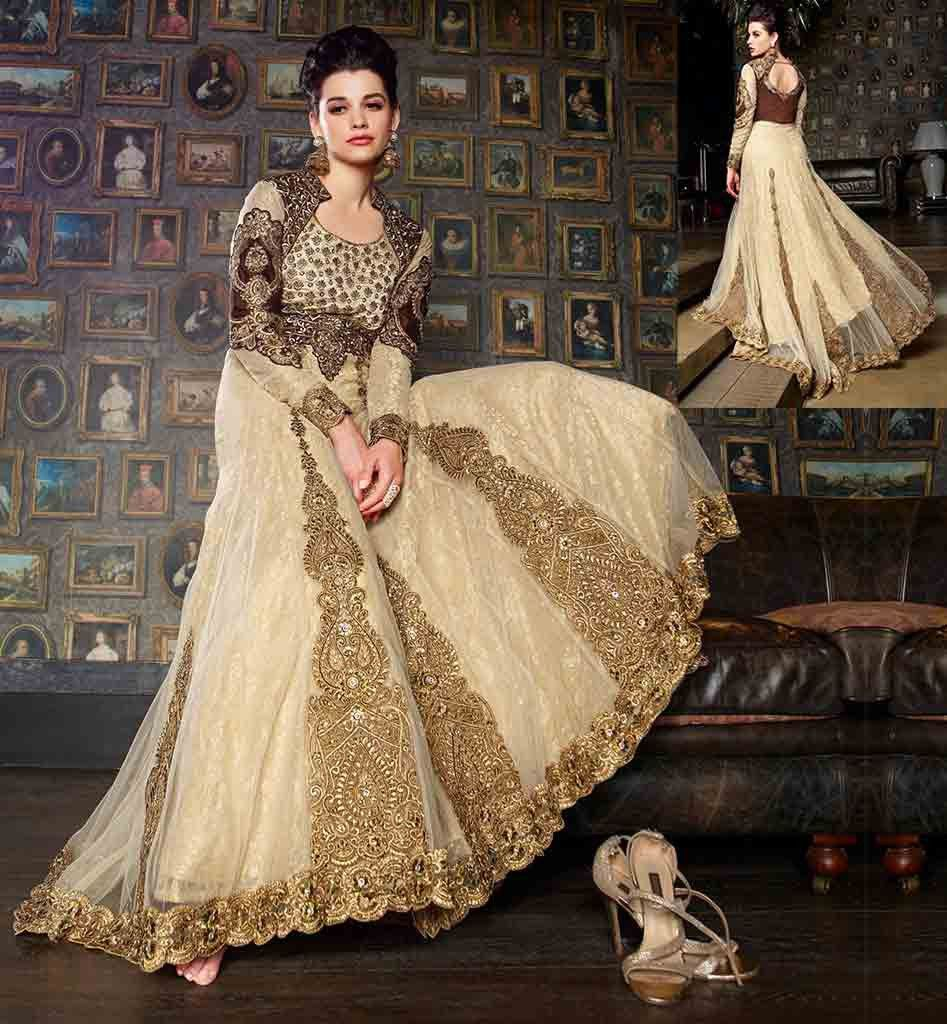 ab3e5611914 HEAVY DESIGNER GOWN ONLINE SHOPPING IN INDIA RTSYB1 – Stylish Bazaar ...