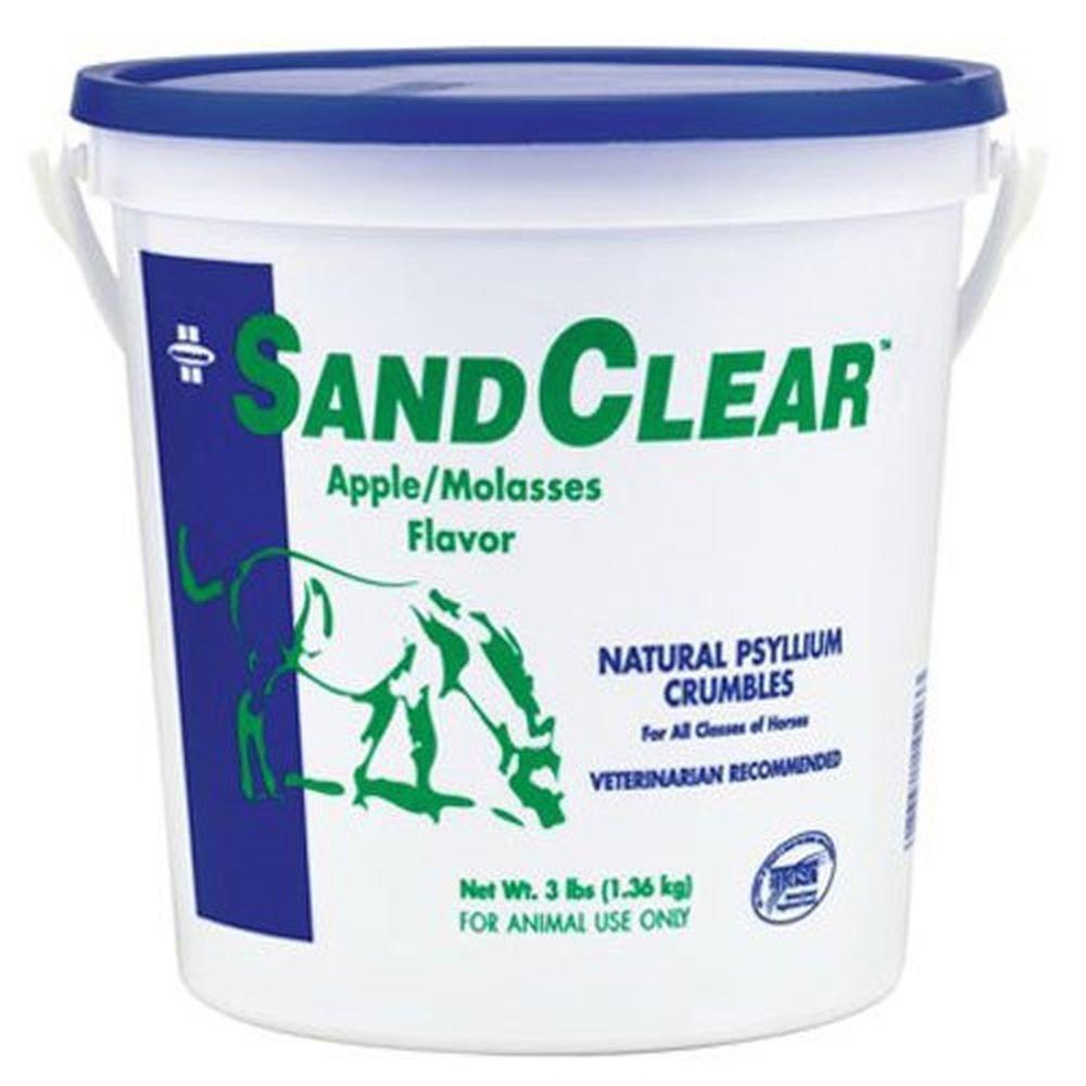 3 Lbs Farnam Sandclear Natural Psyllium Fiber Crumbles For Horses Young Foals Digestion Aid Apple Molasses Horse Nutrition