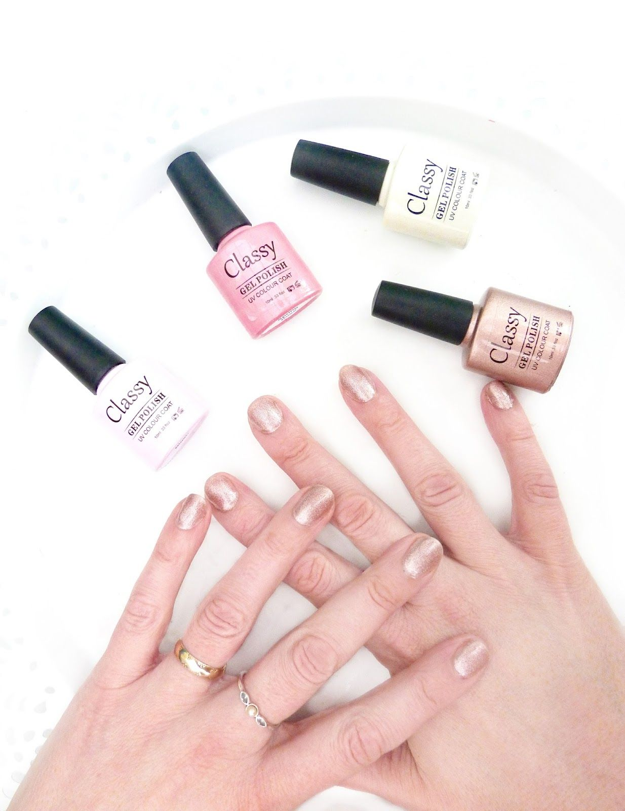 DIY manicures with the fabulous Classy Nails Starter Kit