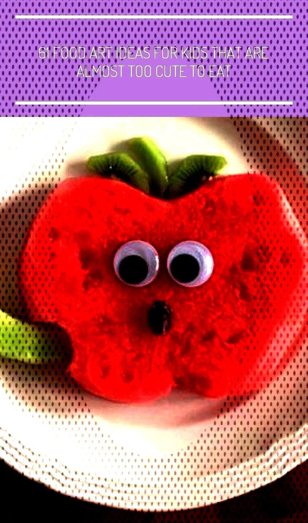 Food Art Lunches - Wassermelonen-Apfelsnack - art for kids50+ Kids Food Art Lunches - Wassermelonen