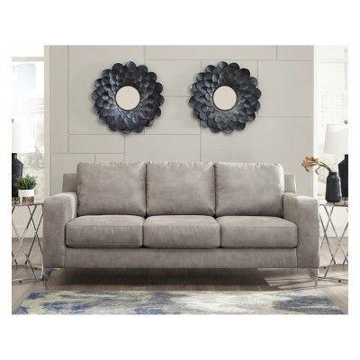 ryler sofa steel gray signature design by ashley in 2019 rh pinterest com