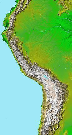 Cordillera De Los Andes Wikipedia La Enciclopedia Libre Los Andes Cordillera Lugares Hermosos