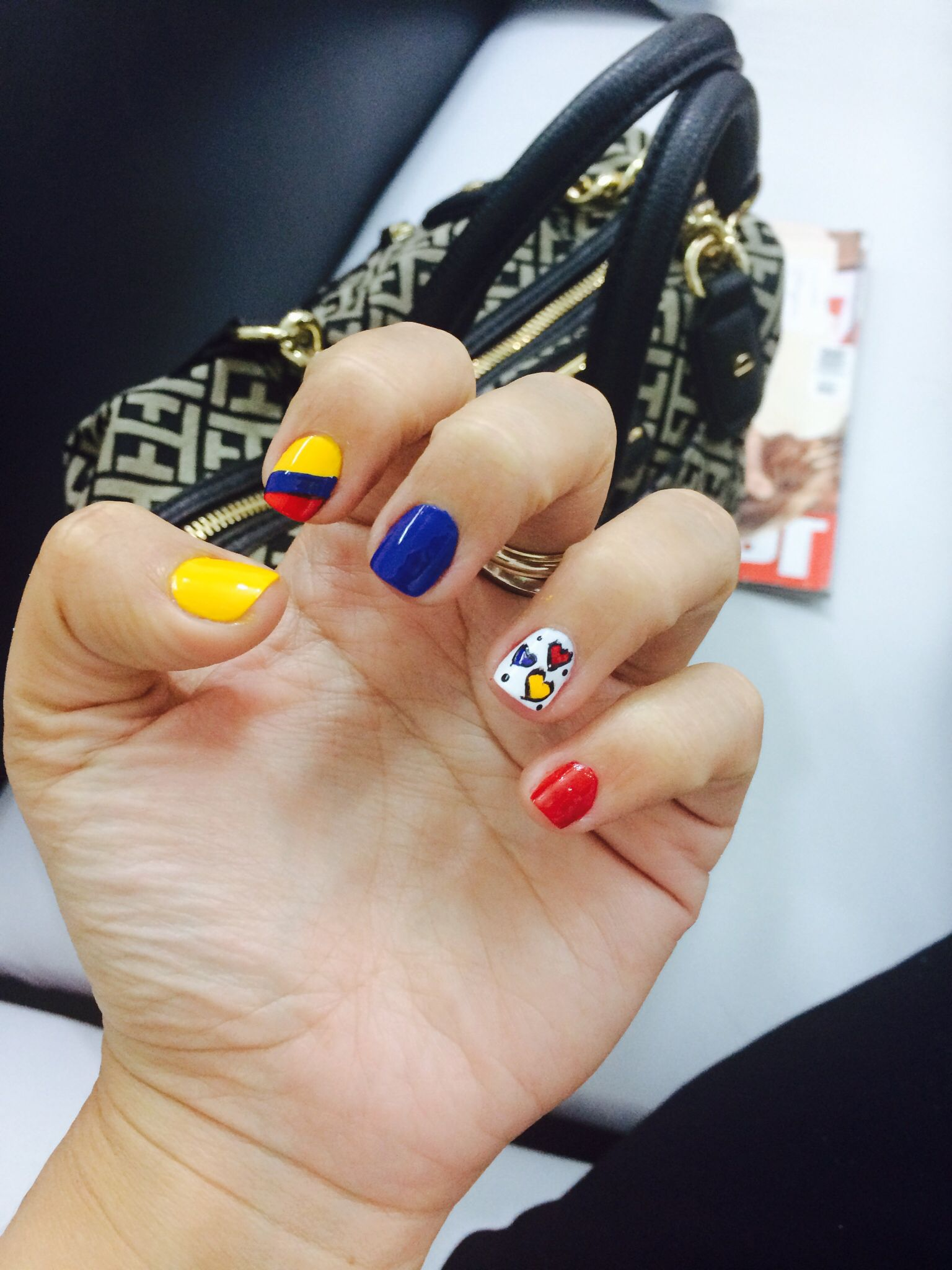 Uñas Colombia nails | Nails | Pinterest | Colombia, Manicure and ...