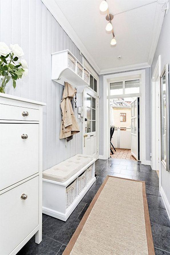 Boazeria W Przedpokoju Mieszkanie W 2019 Wnętrza Home