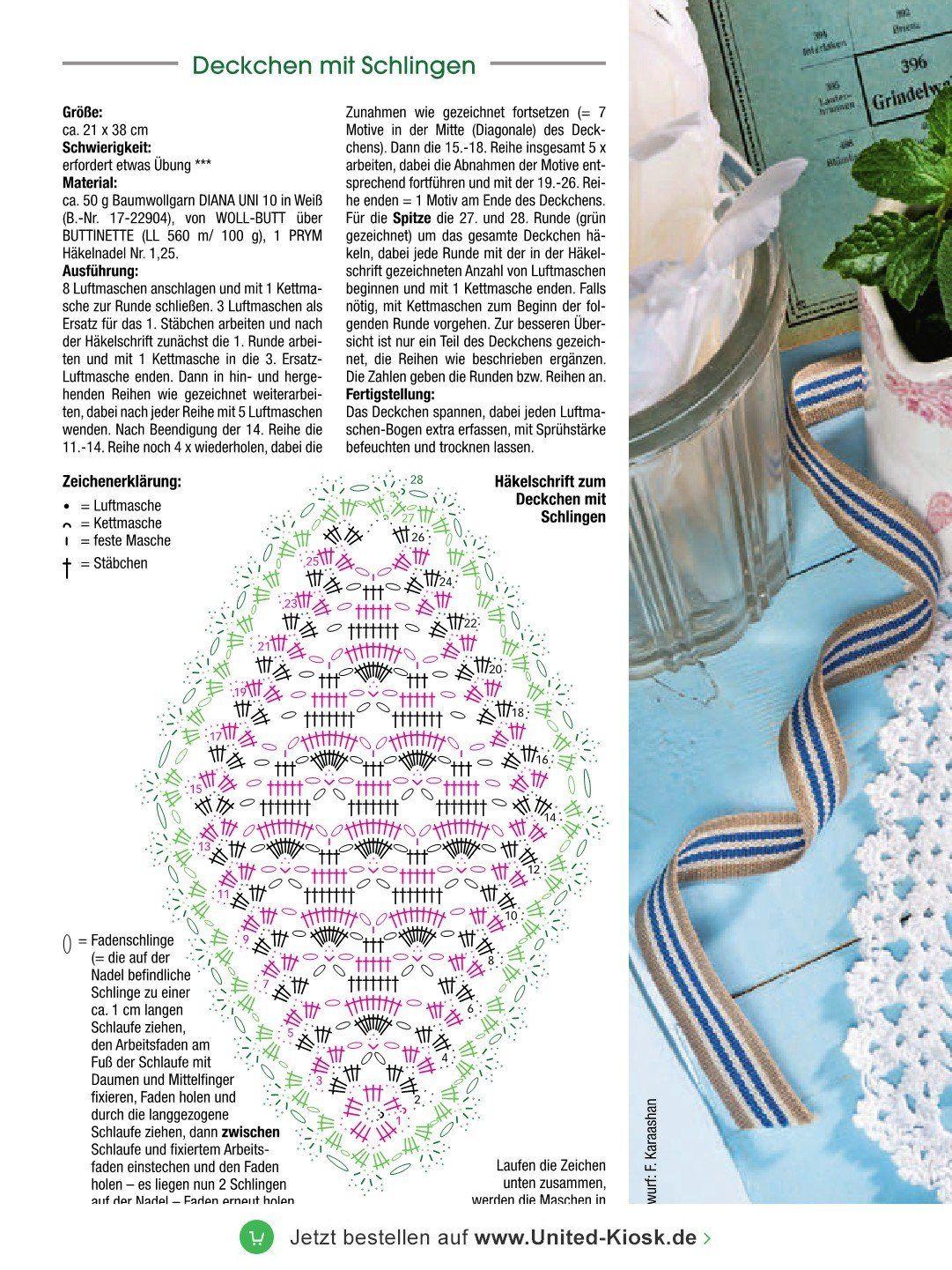 Dekoratives Häkeln Leseprobe Ausgabe 1382017 Vom 06112017